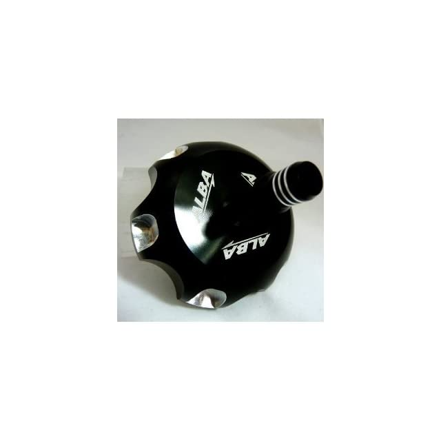 NO   ATV Billet Gas Cap Black Fits Yamaha Raptor 660 (all years) (Available in Many Colors)