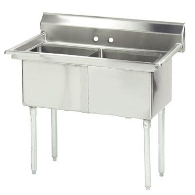 Two Compartment Utility Sink - 8