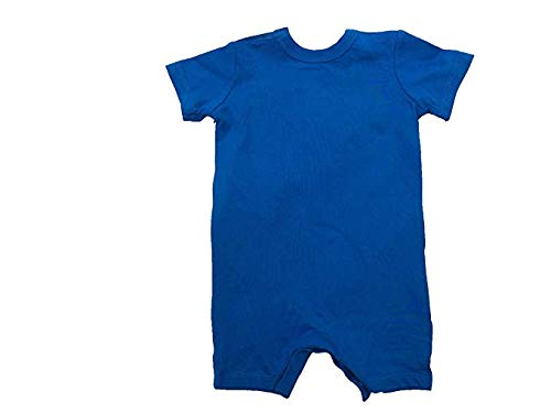 Blue Nebula 56D369-U5X //White, 3-6 Months NIKE Baby Boy Infant Shortall