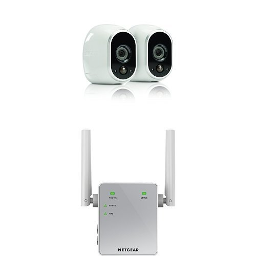 arlo smart home security camera system 2 hd 100 wire. Black Bedroom Furniture Sets. Home Design Ideas