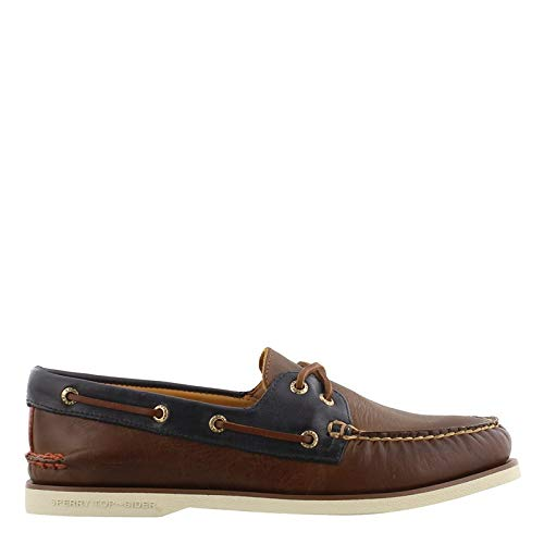 Sperry Top-Sider Gold Cup Authentic Original Fairhaven Boat Shoe Men 10.5 Brown/Navy
