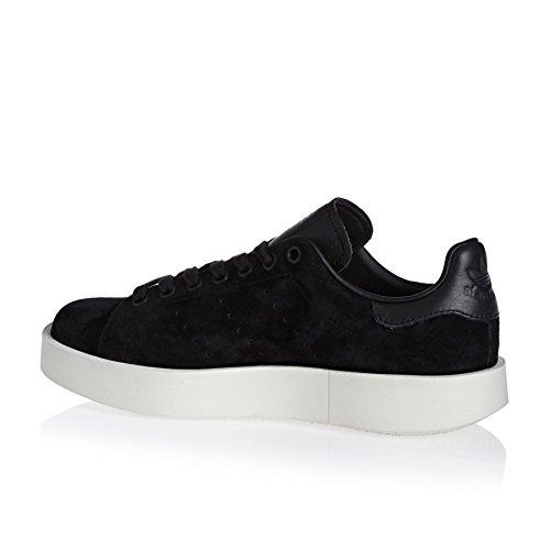Scarpe Da Ginnastica Adidas Da Donna Stan Smith Bold W, Bianco Nero (negbas / Negbas / Casbla)