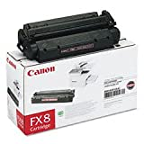 Canon FX-8 Black Laser Toner Cartridge, Office Central