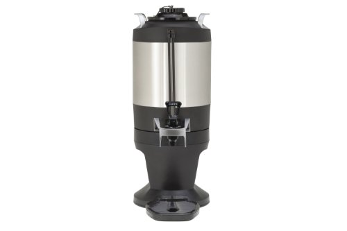 Wilbur Curtis Thermal Dispenser 1.5 Gallon Dispenser, S.S. Body S.S. Liner W/Stylized Base - Coffee Dispenser - TXSG1501S600 (Each) by Wilbur Curtis