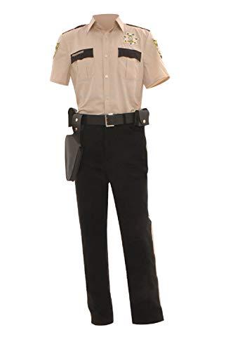 GOTEDDY Men's Rick Grimes Halloween Cosplay Costume