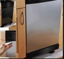 Built-In Dishwashers Update: Peel and Stick Stainless Steel Cover 26