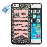 Shasa Delo © New Year Newest Designs of Love Pink-Victoria's Secret-005Case Cover for iPhone iPhone 6 / 6s -(Black)