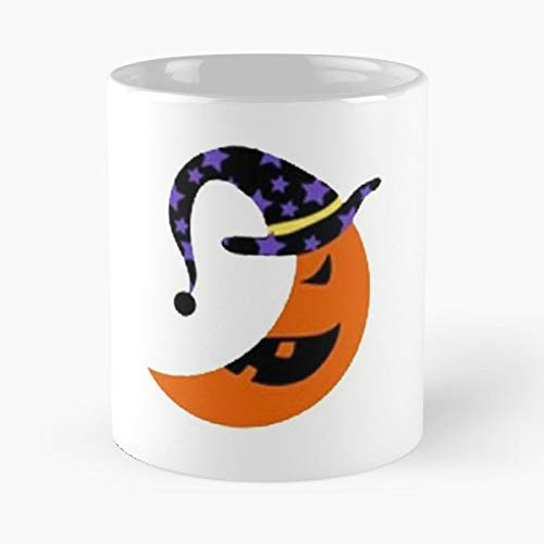 Halloween Moon Makeup Tutorial - 11 Oz Coffee Mugs Unique Ceramic Novelty Cup, The Best Gift For Halloween.]()