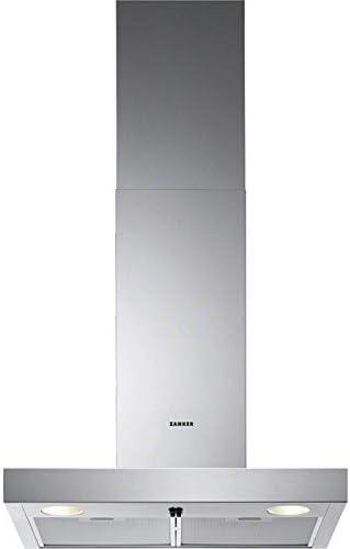 Zanker 60 cm Campana extractora acero inoxidable cristal Canalizado recirculación pared: Amazon.es: Grandes electrodomésticos