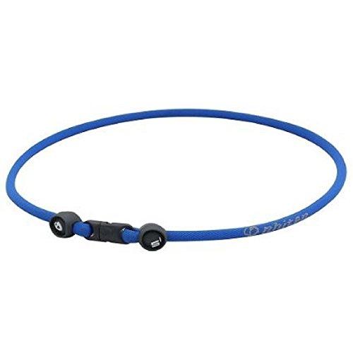- Phiten S1 Aqua-Metal Titanium Infused Necklace (Blue, 22 Inch)