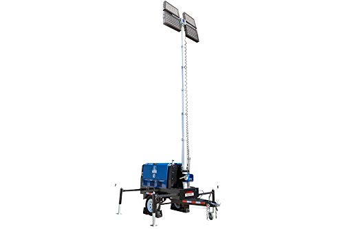 20kW Generator - 480/277V - Water Cooled Diesel Engine - 25' Tower - 4 LED Lamps - 25 Gallon Tank