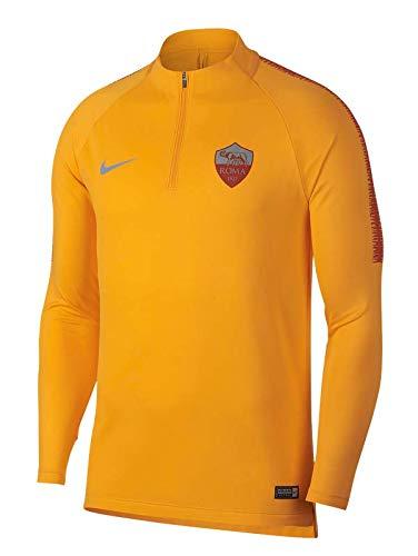 37ba0392dc7 Nike 2018-2019 AS Roma Training Drill Top (University Gold)
