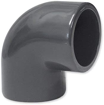 PVC Winkel 90 Grad KlebemuffePVC-U Winkel 90°PVC Fittings20 mm