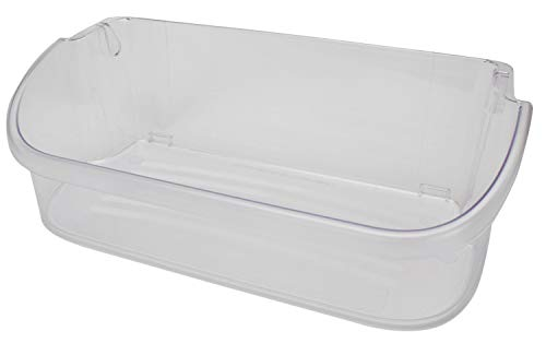 Edgewater Parts 240356402 Door Bin (Clear) Compatible with Frigidaire and  Electrolux Refrigerator