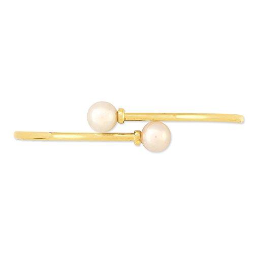 HISTOIRE D'OR - Bracelet Jonc Or Perle de Culture - Femme - Or jaune 375/1000