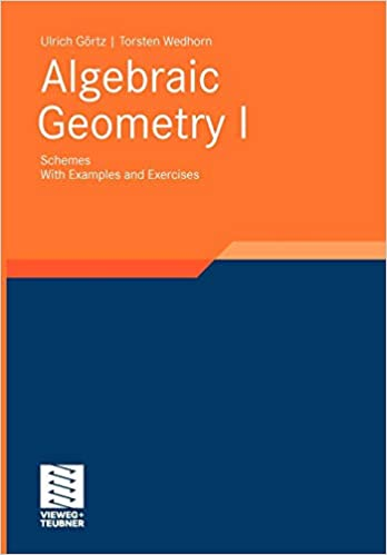 Algebraic Geometry: Part I: Schemes  With Examples and Exercises
