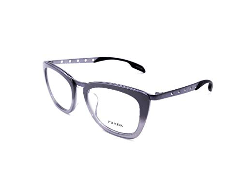 Prada PR60RVF - TV81O1 Eyeglass Frame Dark Grey Gunmetal (Best Prada Eyeglass Frames)