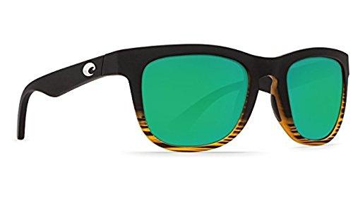 Costa Copra Sunglasses Matte Coconut Fade Green Mirror