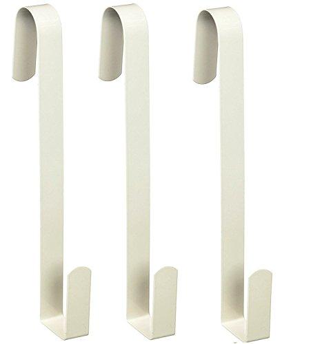 Darice 1123-71 1-Piece Door Hanger, 12-Inch, White (3-Pack)]()