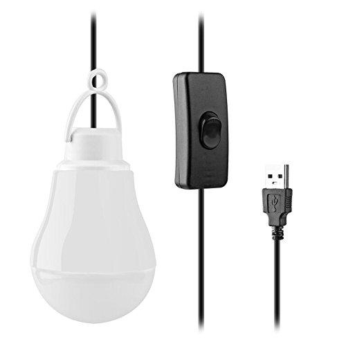 GF Pro USBulb USB Lightbulb for Camping, Outdoors, Emergencies, Nightlight, Bed Lamp