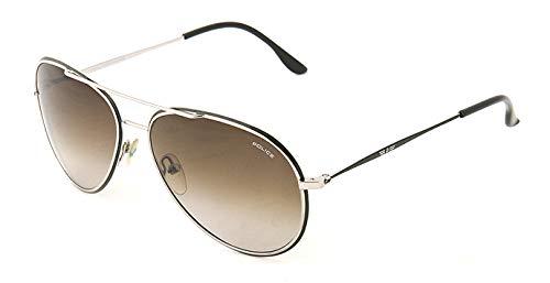 06447735a Police Sunglasses for Men, Brown, S8299M_580523: Amazon.ae