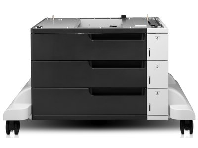 HP CF242A Three-Tray Sheet Feeder and Stand for LaserJet 700 ()