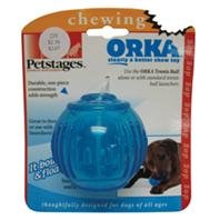 3 PACK ORKA TENNIS BALL (Catalog Category: Dog:TOYS)