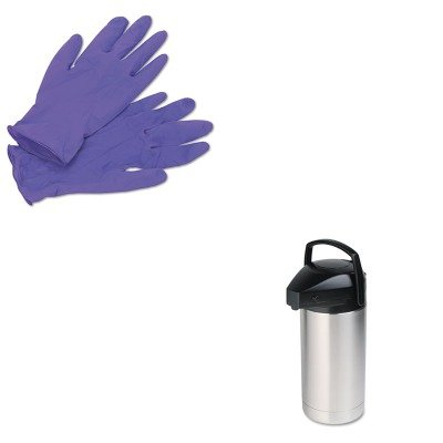 KITHORSV350KIM55082 - Value Kit - Hormel Commercial Grade Jumbo Airpot (HORSV350) and KIMBERLY CLARK PURPLE NITRILE Exam Gloves (KIM55082) (Jumbo Airpot)