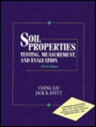 Soil Properties: Testing, Measurement, and Evaluation