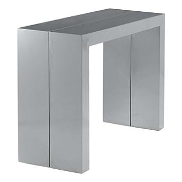 FoncéCuisine Extensible Gris Console Orianne Table rthdsQ