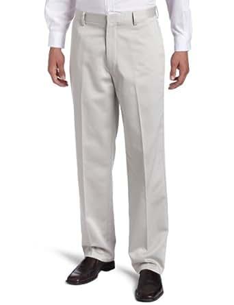 Dockers Men's Never Iron Essential Khaki D3 Classic-Fit Flat-Front Pant, Stone - discontinued, 29W x 32L