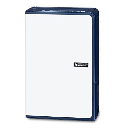 コロナ 衣類乾燥除湿機 除湿量10L(木造11畳鉄筋23畳まで) エレガントブルー CD-H1015(AE)   B00TZF9AK2
