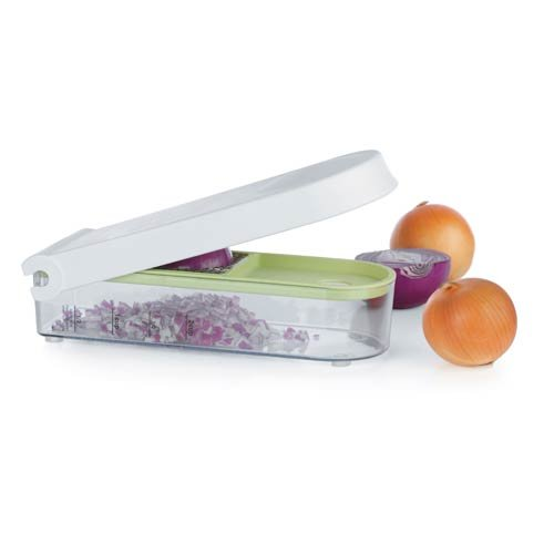 Onion Chopper The Quick, Safe and Simple Way to Chop up Your Fruits and Vegetables. (Chopper Progressive Onion Food)