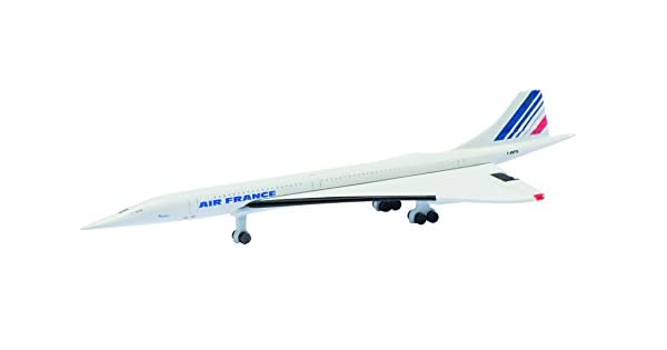 Amazon.com: comolife Air France Concord – Avión miniatura ...