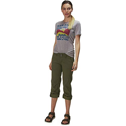 prAna Women's Short Inseam Halle Pant, 0, Cargo Green by prAna (Image #7)