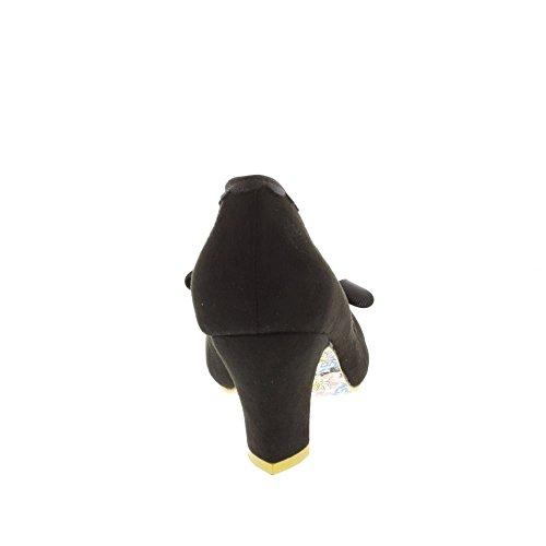 Irregular Choice Damen Kanjanka Pumps Black (Black New)