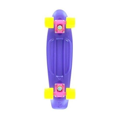 Penny Plastic Original Purple / Pink / Yellow Complete Skateboard Cruiser - 6