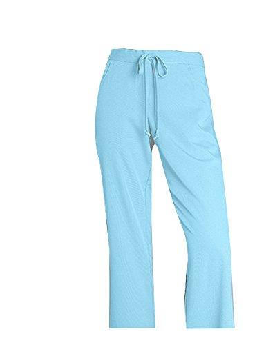 sky blue scrubs - 9