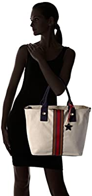 Tommy Hilfiger Canvas Stripe Tote