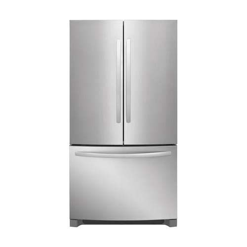 Frigidaire FFHN2750TS 36 Inch French Door Refrigerator with 27.6 cu. ft. Total Capacity, 4 Glass Shelves, 8.7 cu. ft. Freezer Capacity, in Stainless Steel