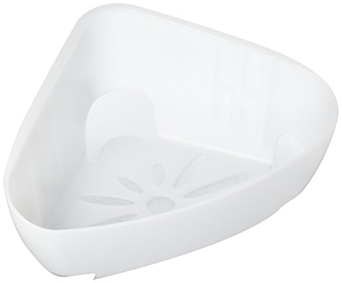 Command Strips BATH12-ES Command Corner Caddy With Water-Resistant Strips