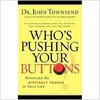 Book Who's Pushing Your Buttons? 1st (first) edition Text Only