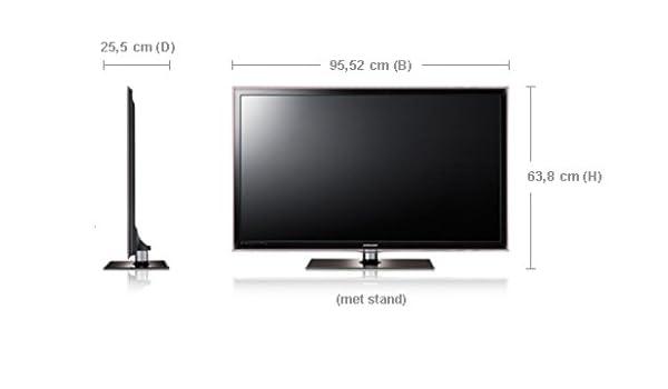 Samsung UE40D6300 LED TV - Televisor (101,6 cm (40