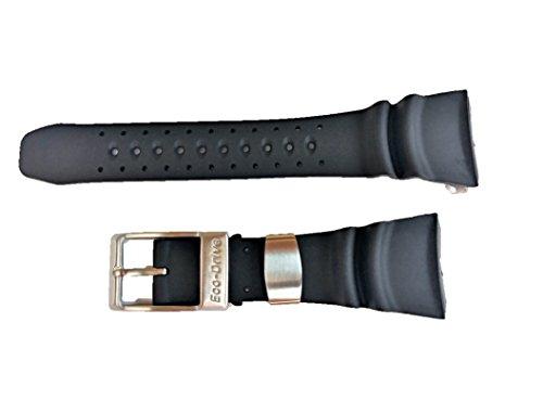 59-S50342 ORIGINAL GENUINE Citizen Promaster Diver Black Polyurethane Watch Band For Men