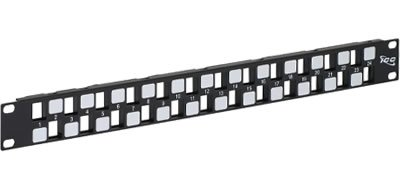 ICC ICC-IC107BP241 PATCH PANEL BLANK HD 24-PORT 1 RMS