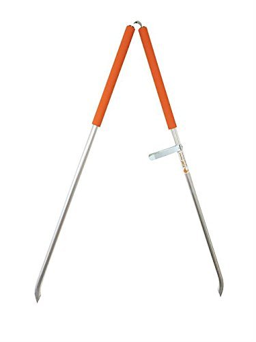 ArcMate KIWI Pick Up Tongs, Tweezer Style Outdoor Litter Pick Up Tool, Reacher Grabber, Adjustable from 24