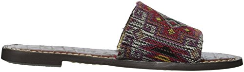 Women's Sam Red Slide Edelman Multi Sandal Gio 8HHq1xwa