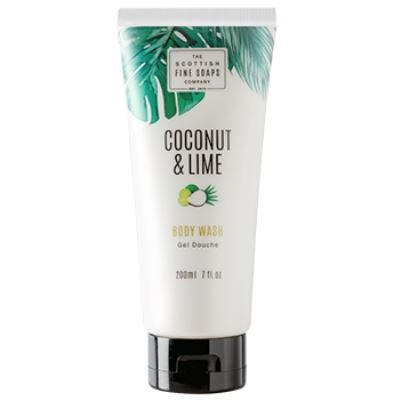 Scottish Soaps Coconut & Lime Body Wash Tube 200ml