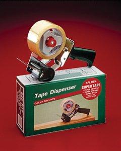 Tape Dispenser, 2'', Lightweight, Pistol Grip, Adjustable Brake