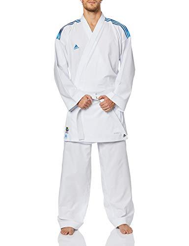 ADIDAS Kimono De Karate  Bco Adilight C/ Listras Azul 190